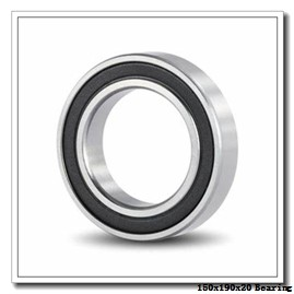 150 mm x 190 mm x 20 mm  FAG 61830 deep groove ball bearings