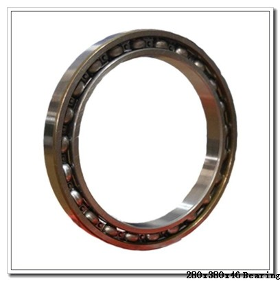 280 mm x 380 mm x 46 mm  NTN 7956DF angular contact ball bearings