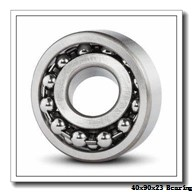 40 mm x 90 mm x 23 mm  ISB 7308 B angular contact ball bearings