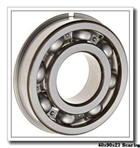 40 mm x 90 mm x 23 mm  ISB 6308 N deep groove ball bearings