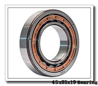 45 mm x 85 mm x 19 mm  NTN 7209CG1GNP4 angular contact ball bearings