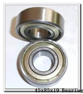 45 mm x 85 mm x 19 mm  FAG 6209-2RSR deep groove ball bearings