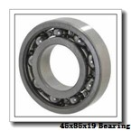 45 mm x 85 mm x 19 mm  Loyal 20209 KC+H209 spherical roller bearings
