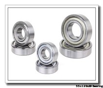55 mm x 120 mm x 29 mm  NACHI 6311 deep groove ball bearings