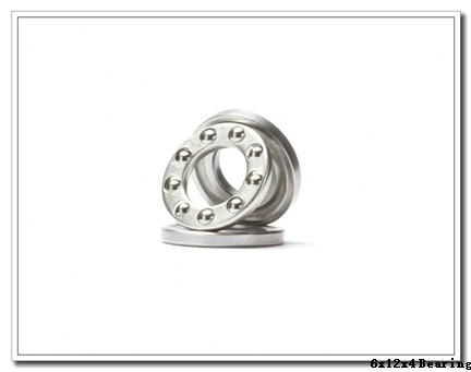 6 mm x 12 mm x 4 mm  ZEN MR126-2Z deep groove ball bearings