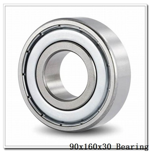 90 mm x 160 mm x 30 mm  FAG 7218-B-TVP angular contact ball bearings
