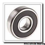 95 mm x 145 mm x 24 mm  NKE 6019-Z deep groove ball bearings