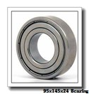 95 mm x 145 mm x 24 mm  SNR ML7019HVUJ74S angular contact ball bearings