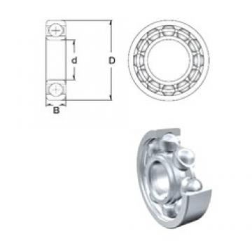 280 mm x 380 mm x 46 mm  ZEN 61956 deep groove ball bearings
