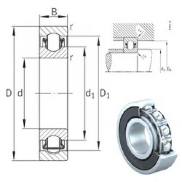 20 mm x 52 mm x 15 mm  INA BXRE304-2HRS needle roller bearings