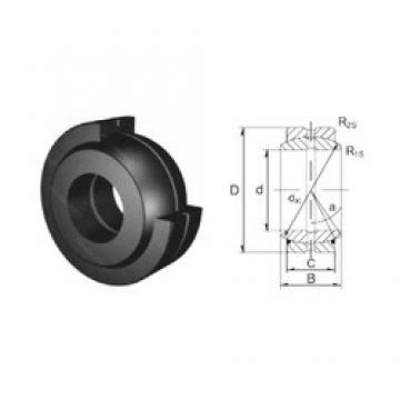 70 mm x 105 mm x 49 mm  ZEN GE70ES plain bearings