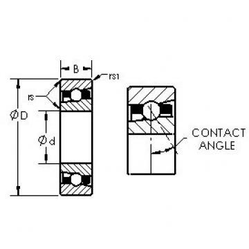 AST H7019C/HQ1 angular contact ball bearings