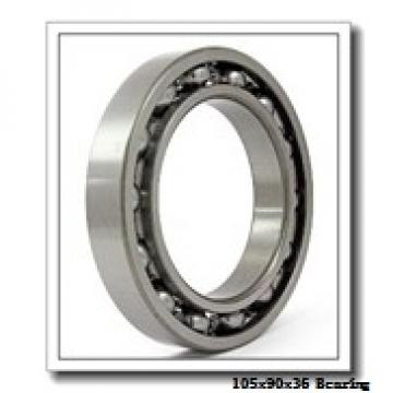 105 mm x 190 mm x 36 mm  ISO NF221 cylindrical roller bearings