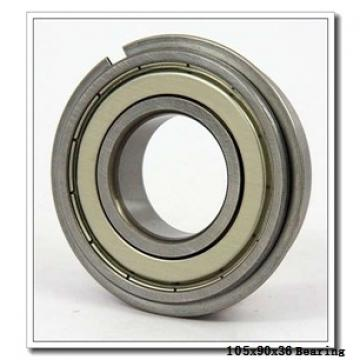 105 mm x 190 mm x 36 mm  NTN 7222CT1B/GNP42 angular contact ball bearings