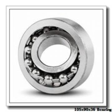 105 mm x 190 mm x 36 mm  Loyal 7221 A angular contact ball bearings