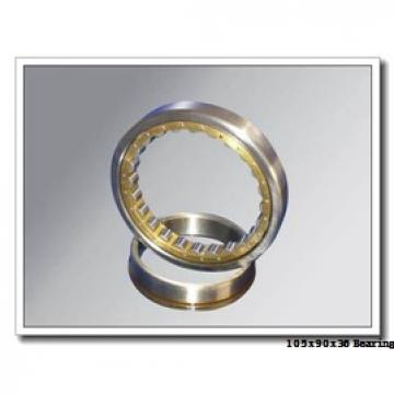 105 mm x 190 mm x 36 mm  ISO 7221 B angular contact ball bearings