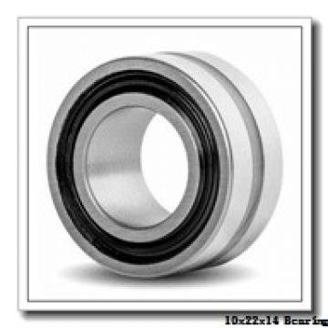 10 mm x 22 mm x 14 mm  INA GAKFR 10 PB plain bearings