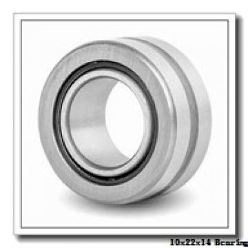 10 mm x 22 mm x 14 mm  ISO NA4900-2RS needle roller bearings