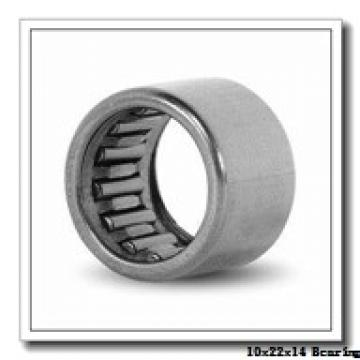 10 mm x 22 mm x 14 mm  JNS NA 4900UU needle roller bearings