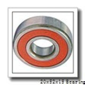 20 mm x 52 mm x 15 mm  NSK 6304N deep groove ball bearings