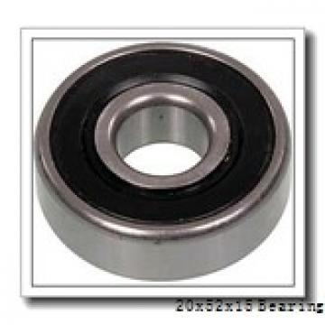 20 mm x 52 mm x 15 mm  FBJ NJ304 cylindrical roller bearings