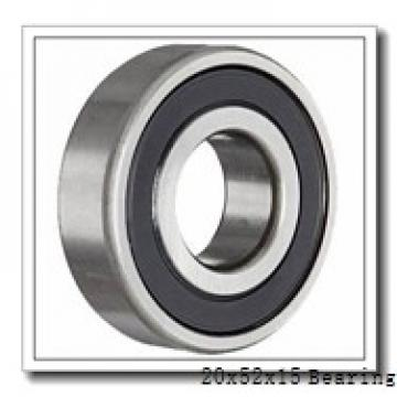20 mm x 52 mm x 15 mm  NTN 6304 deep groove ball bearings