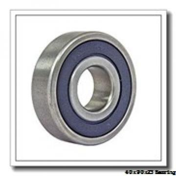 40 mm x 90 mm x 23 mm  NACHI 6308NR deep groove ball bearings