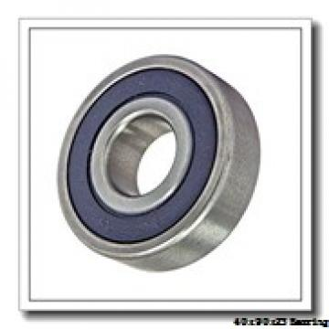 40 mm x 90 mm x 23 mm  NACHI 7308B angular contact ball bearings