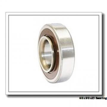 40 mm x 90 mm x 23 mm  ISO 7308 C angular contact ball bearings