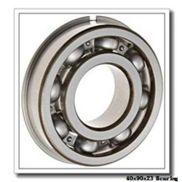 40 mm x 90 mm x 23 mm  NKE 1308 self aligning ball bearings