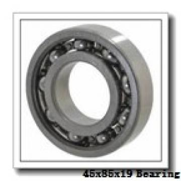 45 mm x 85 mm x 19 mm  NACHI 7209DF angular contact ball bearings