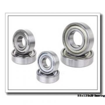 55 mm x 120 mm x 29 mm  NACHI 7311DF angular contact ball bearings