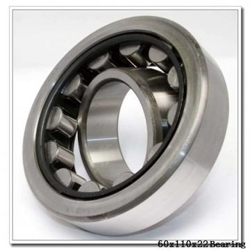 60 mm x 110 mm x 22 mm  NACHI 7212DB angular contact ball bearings