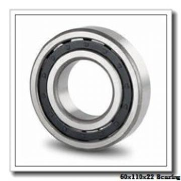 60 mm x 110 mm x 22 mm  KOYO 1212 self aligning ball bearings