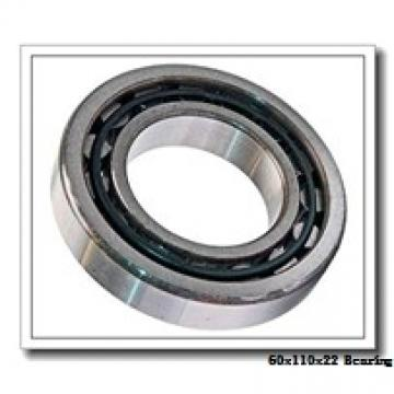 60 mm x 110 mm x 22 mm  ISO N212 cylindrical roller bearings