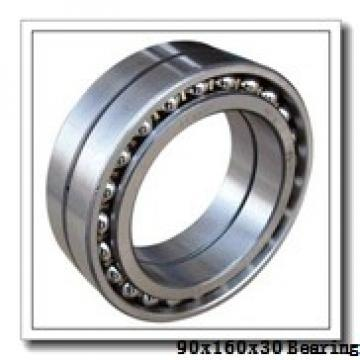 90 mm x 160 mm x 30 mm  NTN 6218LLU deep groove ball bearings