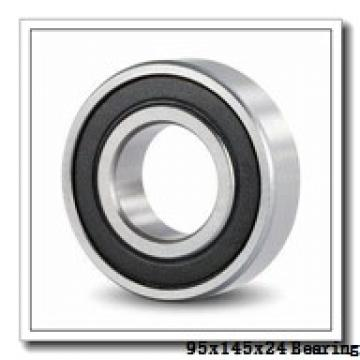 95 mm x 145 mm x 24 mm  KOYO 3NCHAF019CA angular contact ball bearings