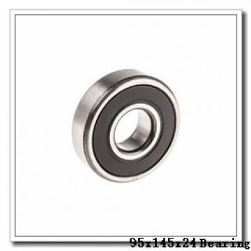 95 mm x 145 mm x 24 mm  NACHI 7019 angular contact ball bearings