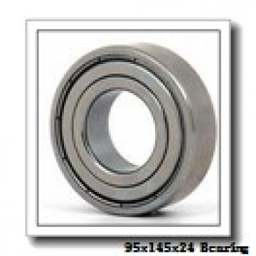 95 mm x 145 mm x 24 mm  ISO 6019 ZZ deep groove ball bearings